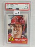 2019 Topps Living Mike Trout PSA 9