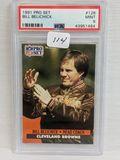 1991 Pro Set Bill Belichick - PSA 9