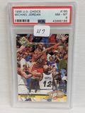 1998 U.D. Choice Michael Jordan PSA 8