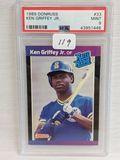 1989 Donruss Ken Griffey Jr. PSA 9