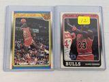 Michael Jordan '88 Fleer Card & sticker