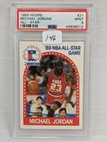 1989 Hoop Michael Jordan All-Star PSA 9