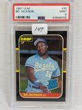 1987 Leaf Bo Jackson PSA 9