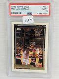 1992 Topps Gold Michael Jordan PSA 9