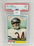 1981 Topps Walter Payton PSA 9