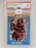 1990 Fleer All-Stars Clyde Drexler PSA 9