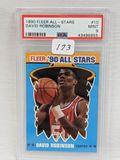 1990 Fleer All-Stars David Robinson PSA 9