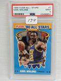 1990 Fleer All-Stars Karl Malone PSA 9