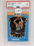 1990 Fleer All-Stars Larry Bird PSA 9