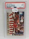 1993 Fleer Michael Jordan PSA 9
