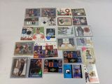 Jersey and relic lot of 24 factory authorized cards