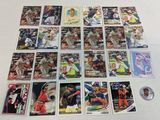 Francisco Lindor 25 card group includes inserts and coin