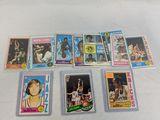 1975 Topps basketball lot of 11, all stars