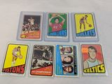 1973 Topps basketball lot of 7 cards: Stars and Rookies includes: Chenier (R), Erving, Carr, Havlice