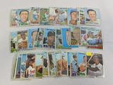 1967 Topps baseball lot of 40, no duplicates, all cards sleeved, starts at # 64