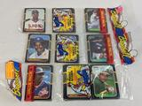 1987 Donruss grocery wrapped packs lot of 3 chance of Bonds, Maddux, and Siera, possible Rookies