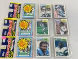 1987 Topps football grocery wrapped packs lot of 3 possible Rookies of Cunningham, Kelly, Flutie