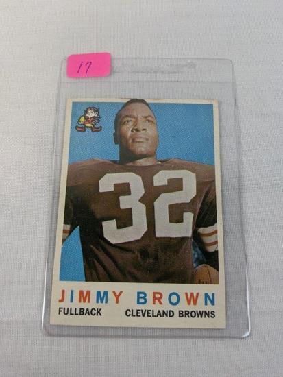Jim Brown Topps 1959