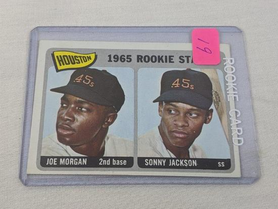 Joe Morgan 1965 Topps Rookie
