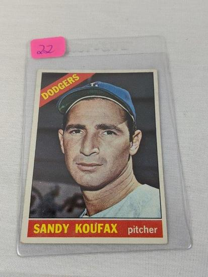 Sandy Koufax 1966 Topps