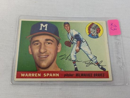 Warren Spahn 1955 Topps