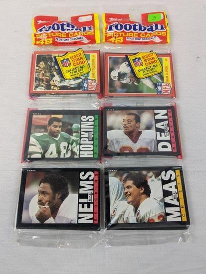 1985 Topps football grocery packs