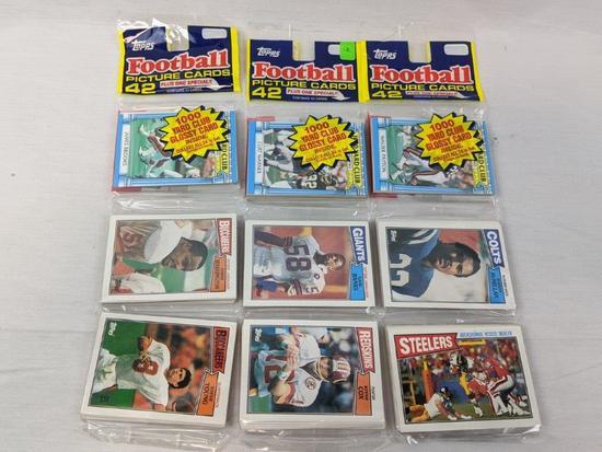 1987 Topps football grocery packs