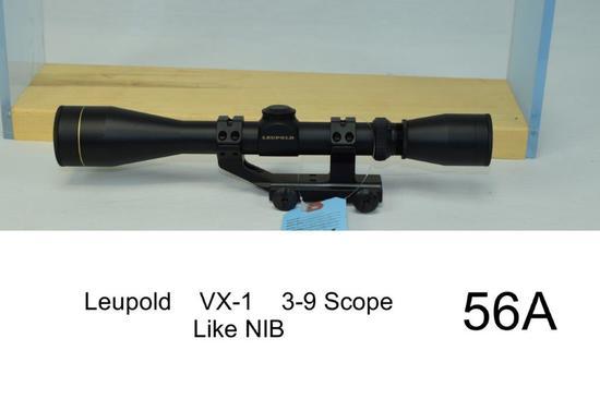 Leupold    VX-1    3-9 Scope    Condition: Like NIB