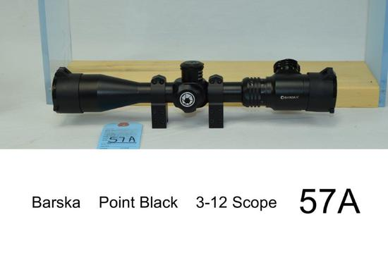 Barska    Point Black    3-12 Scope