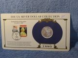 1880O MORGAN DOLLAR W/STAMPS