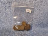 25-1909VDB LINCOLN CENTS