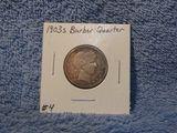 1903S BARBER QUARTER (A BETTER DATE) XF