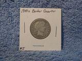 1900O BARBER QUARTER (A BETTER DATE) VF