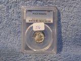 1942 MERCURY DIME PCGS MS66 FB