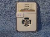 1940 MERCURY DIME NGC MS66 FB