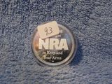 NRA 1-OZ. .999 SILVER ROUND DEFENDING OUR RIGHT TO KEEP & BEAR ARMS