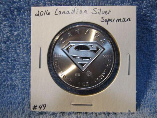 2016 CANADIAN SILVER SUPERMAN BU