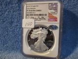 2018W SILVER EAGLE NGC PF70 ULTRA CAMEO EARLY RELEASES MIKE RELEASES