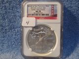 2012(S) SILVER EAGLE NGC MS70 EARLY RELEASES