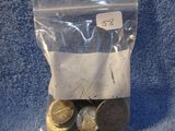 $8.85 IN MIXED U.S. SILVER COINS