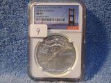 2014(S) SILVER EAGLE NGC MS70