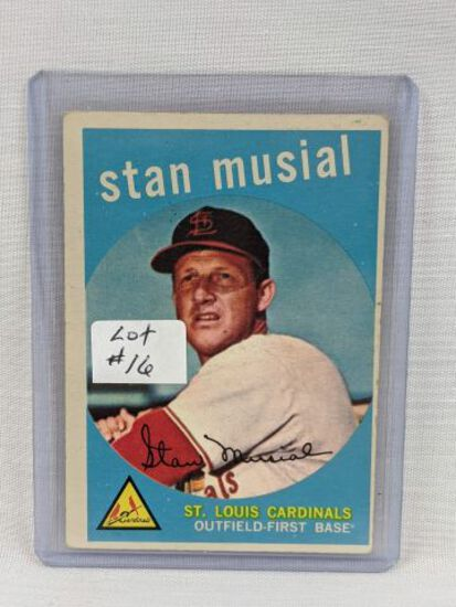 1959 Topps Stan Musial Card #150
