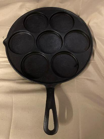 Cast Iron Egg Poacher