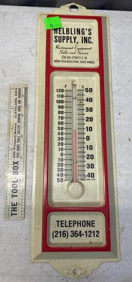Helbling's Supply Inc Thermometer, New Philadelphia Ohio