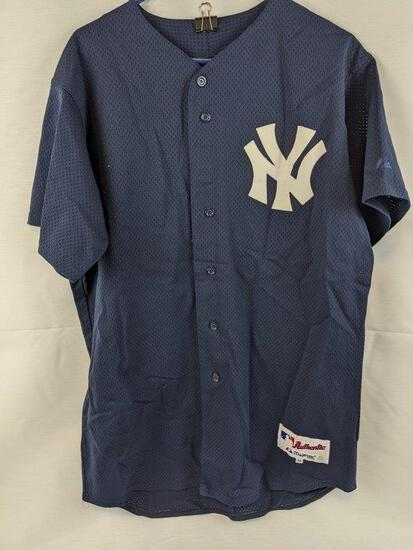 New York Yankees game used jersey, Steiner