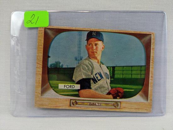1955 Bowman, Whitey Ford