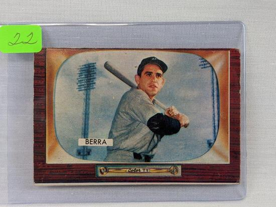 1955 Bowman, Yogi Berra
