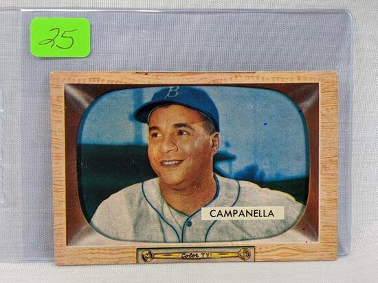 1955 Bowman: Campanella