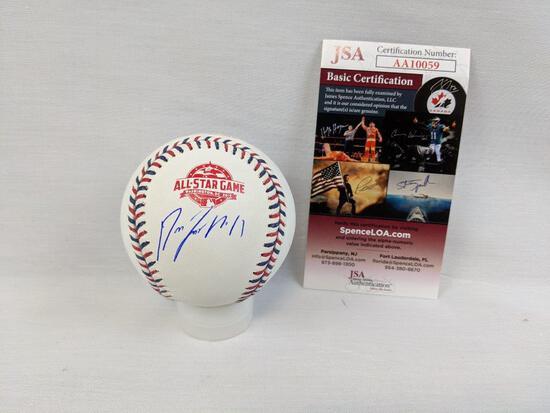 Jose Ramirez signed All-Star ball, JSA