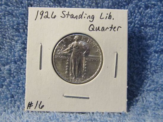 1926 STANDING LIBERTY QUARTER BU